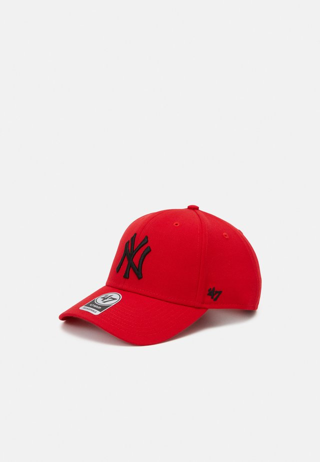 MLB NEW YORK YANKEES SNAPBACK UNISEX - Pet - torch red