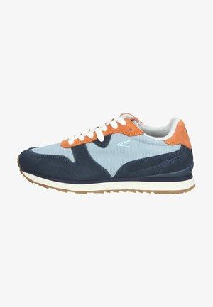 Sneakers laag - orange blue c