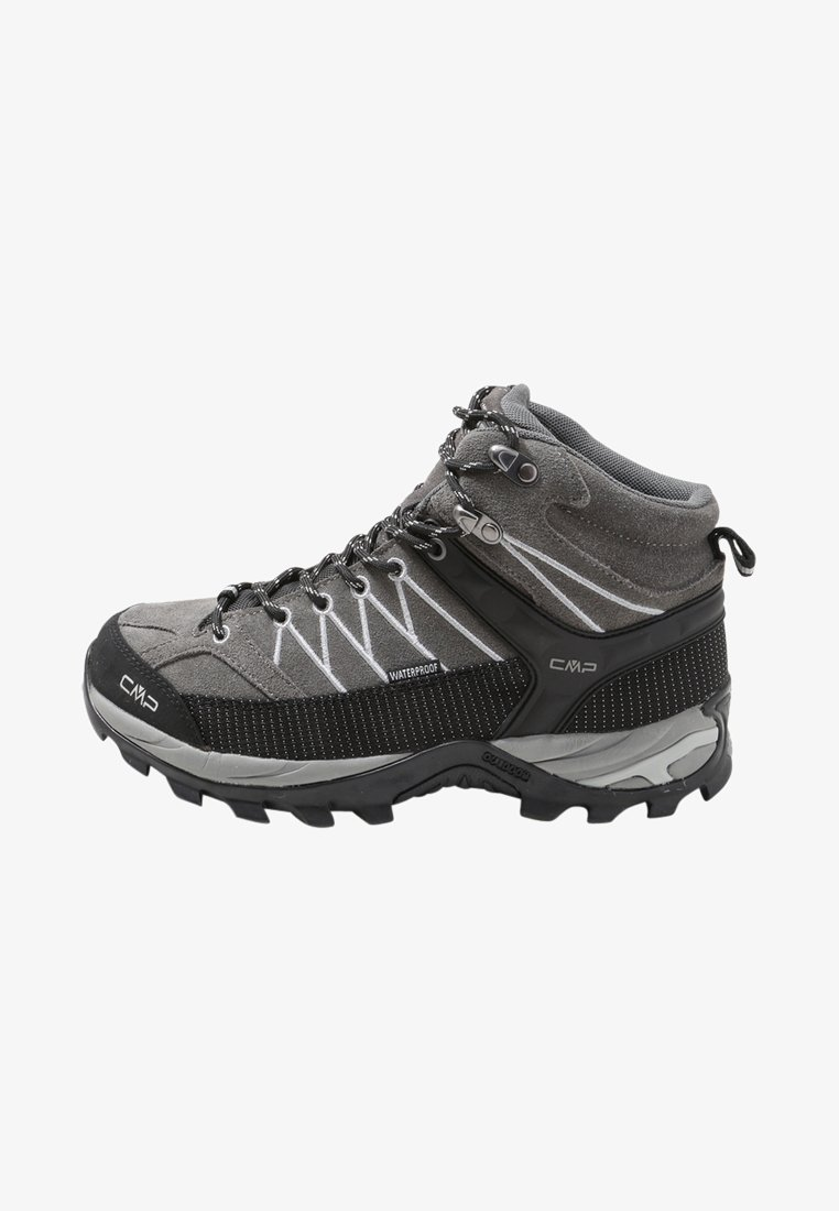 CMP - RIGEL MID TREKKING SHOES WP - Hiking shoes - grey