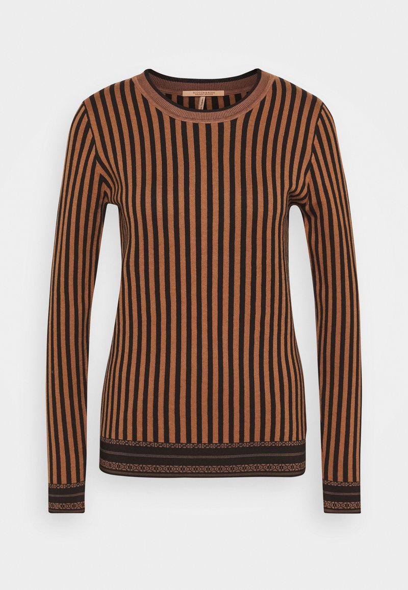 Scotch & Soda - BASIC STRIPED - Trui - combo