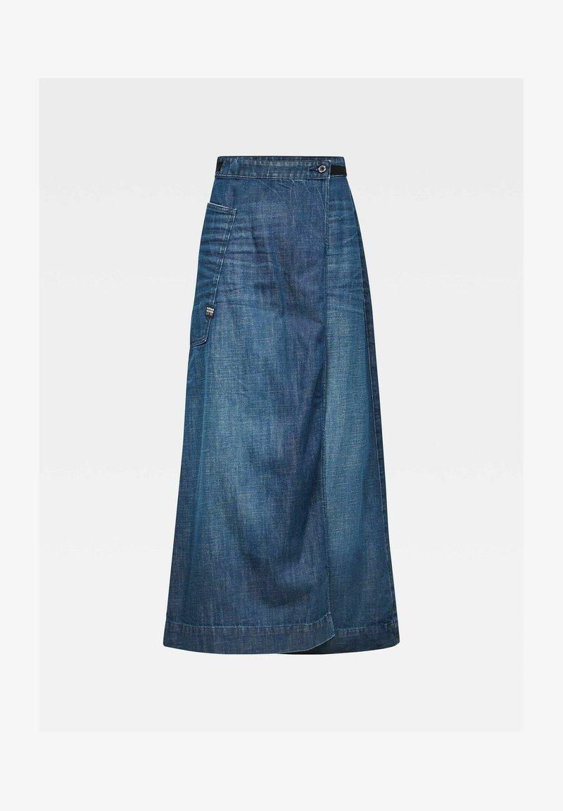 G-Star - Wikkelrok - worn in atoll blue