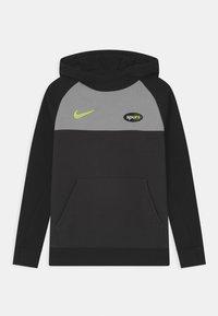 Nike Performance - TOTTENHAM HOTSPURS HOOD UNISEX - Club wear - black/smoke grey - 0
