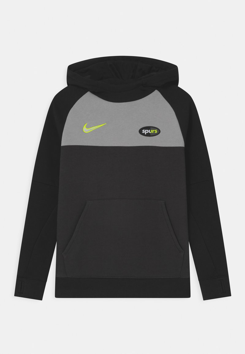 Nike Performance - TOTTENHAM HOTSPURS HOOD UNISEX - Club wear - black/smoke grey