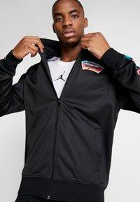 Mitchell & Ness - NBA SAN ANTONIO SPURS TRACK JACKET - Træningsjakker - black - 3