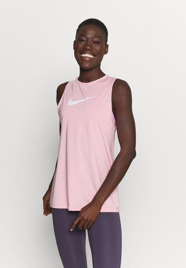 TANK OPEN - Camiseta de deporte - pink glaze/white