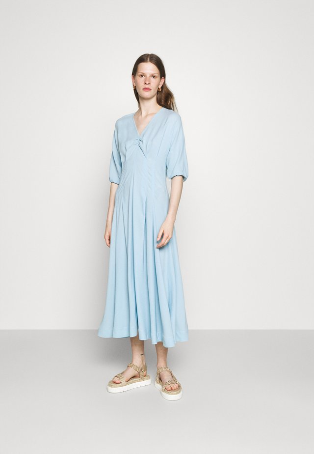 MIDI DAY DRESS - Day dress - steel blue