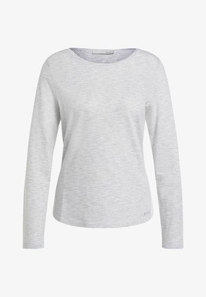 Sweatshirt - light grey white