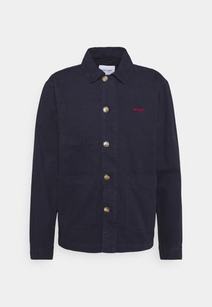 WORKER JACKET AMOUR - Denim jacket - carbon blue