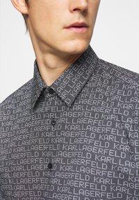 KARL LAGERFELD - MODERN FIT - Shirt - black - 6