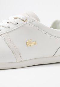 Lacoste - REY SPORT  - Sneakersy niskie - offwhite - 2