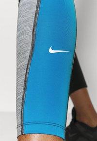Nike Performance - ONE 7/8 - Medias - black/light photo blue/chile red/black - 3
