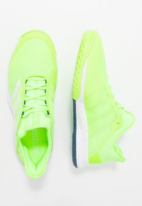 adidas Performance - ADIZERO CLUB - Multicourt tennis shoes - sigal green/footwear white/tech indigo - 1