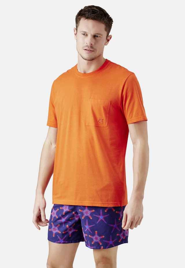 T-shirt basique - orange