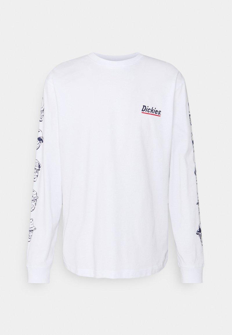 Dickies - FEDERAL DAM - Long sleeved top - white