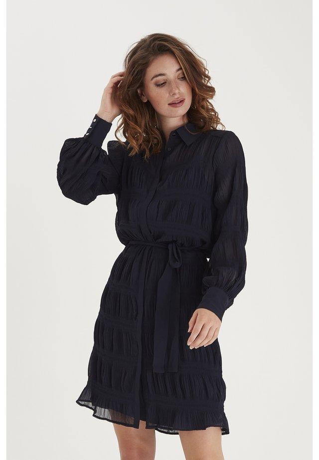 FRNAPLISSE - Shirt dress - navy blazer