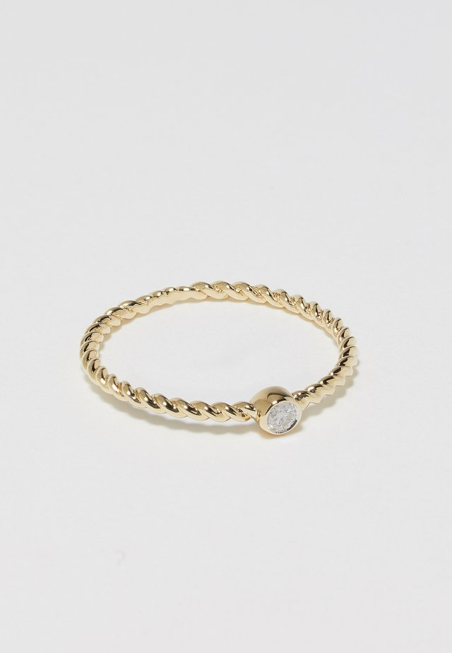 WHITE GOLD - Anillo - gold-coloured