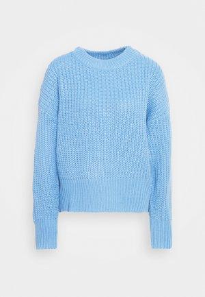BASIC CHUNKY CREW NECK  - Maglione - blue