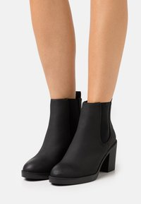 New Look Wide Fit - WIDE FIT DUSTIN  CHELSEA - Ankelboots - black - 0