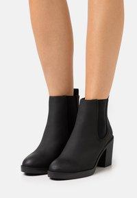New Look Wide Fit - WIDE FIT DUSTIN  CHELSEA - Kotníková obuv - black - 0