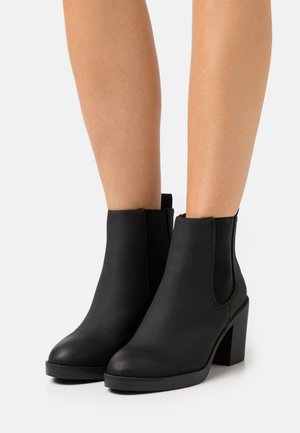 WIDE FIT DUSTIN  CHELSEA - Ankelboots - black