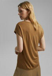Esprit Collection - Basic T-shirt - bark - 2