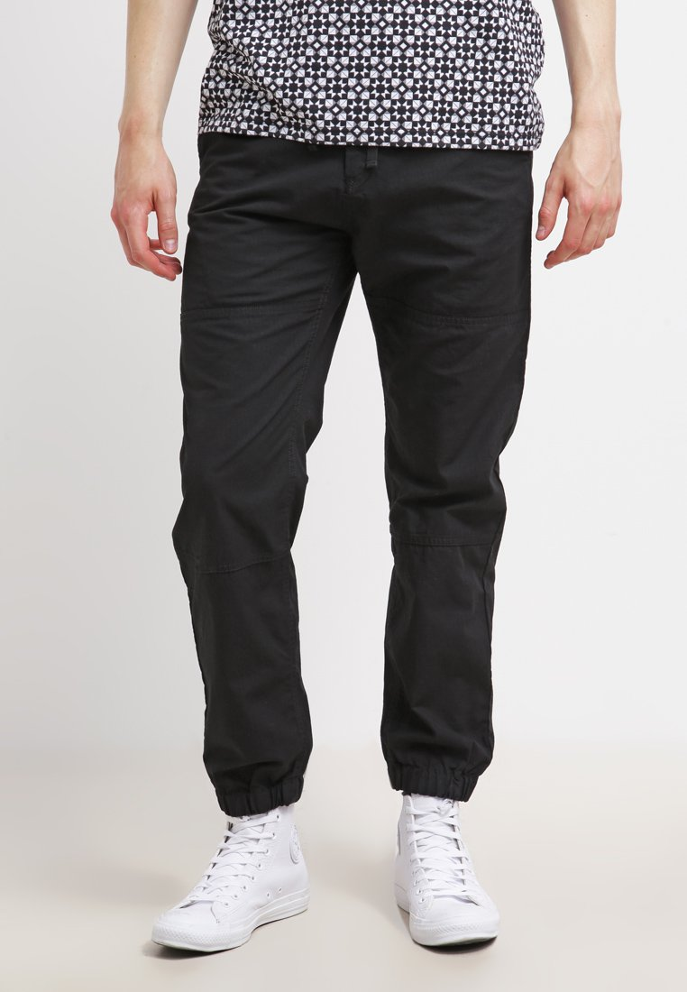 Carhartt WIP - MARSHALL COLUMBIA - Trousers - black rinsed