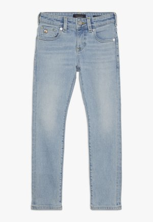 STRUMMER  - Relaxed fit jeans - paint it blauw