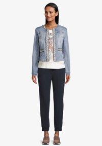 Betty Barclay - Denim jacket - blue bleached denim - 1