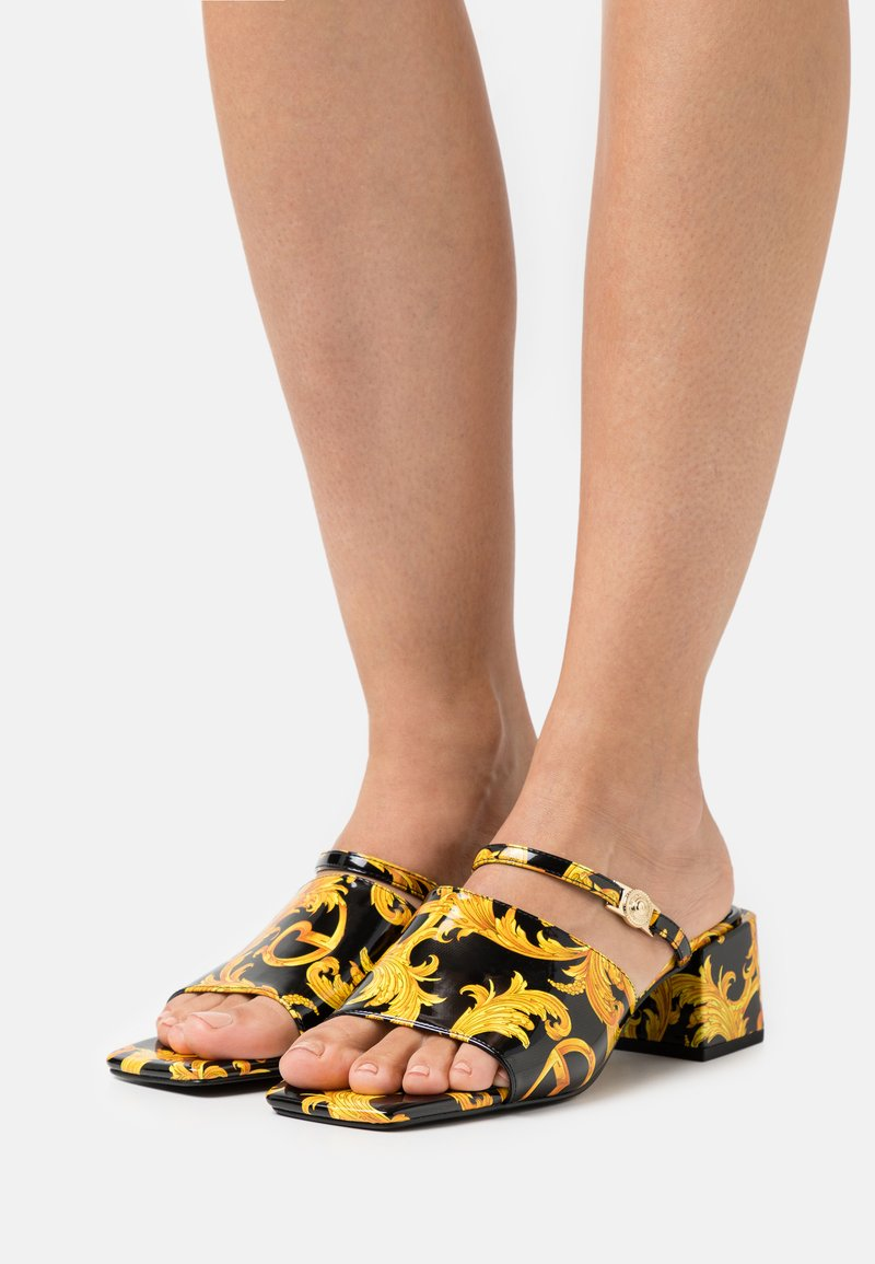 Versace Jeans Couture - Heeled mules - multicolor
