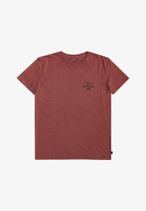 DESERT TRIPPN - Print T-shirt - henna