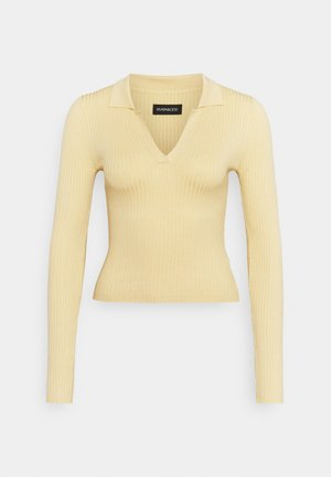 Jumper - light yellow