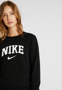 Nike Sportswear - CREW - Sweatshirts - black/white - 3