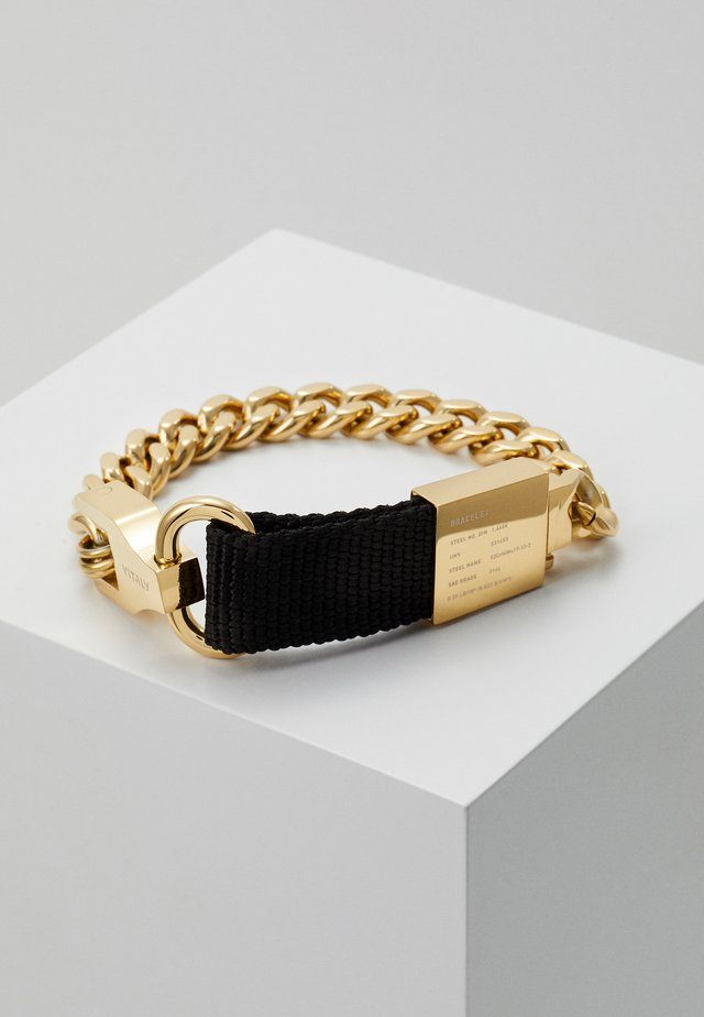 COMPOSITE - Armbånd - gold-coloured/black