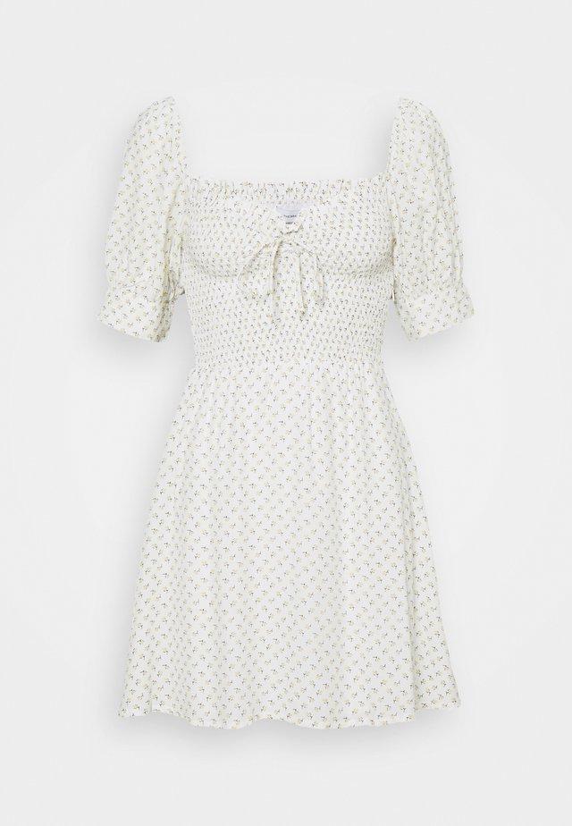 DULCIA MINI DRESS - Day dress - white