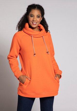 Sweatshirt - mandarine