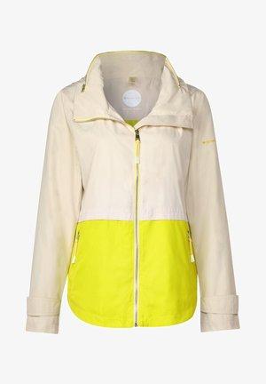 MIT COLOURBLOCK - Summer jacket - beige