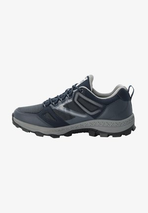 Hiking shoes - dark blue / grey