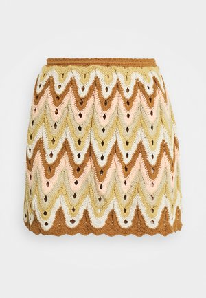 HEAT OF THE MOMENT CROCHE - Mini skirt - dream combo
