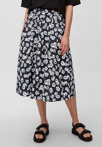 Marc O'Polo - A-line skirt - blue - 0