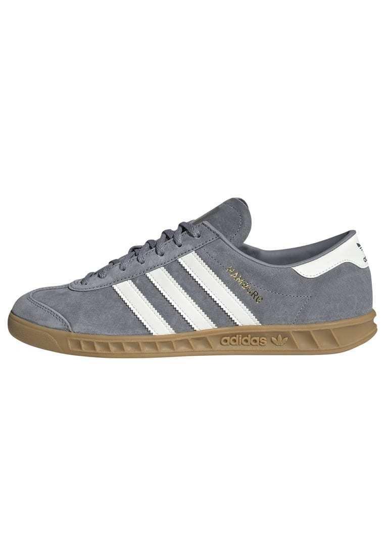 adidas Originals HAMBURG TERRACE - Baskets basses - grey core ...