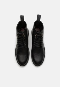 Walk London - WOLF TOE CAP - Lace-up ankle boots - thunder black - 3