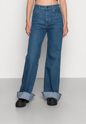 DECK ULTRA HIGH WIDE LEG - Flared Jeans - faded blue jay