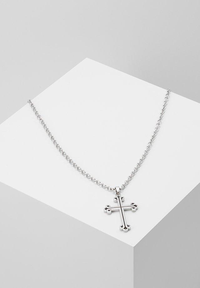 PENDANT NECKLACE - Halskette - silver-coloured