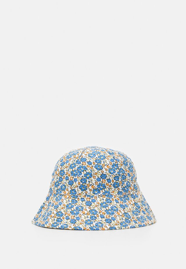 FLORAL BUCKET HAT - Hat - blue
