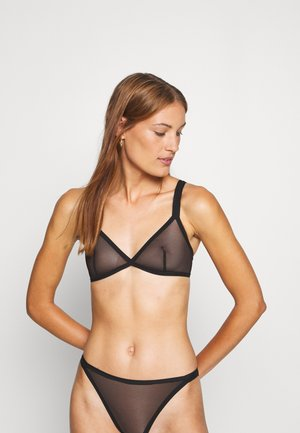 BRA - Triangle bra - black dark