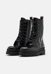Scotch & Soda - AUBRI - Kotníkové boty na platformě - black - 2