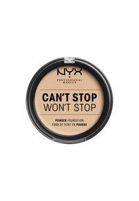 Nyx Professional Makeup - CAN'T STOP WON'T STOP POWDER FOUNDATION - Poeder - CSWSPF06 vanilla - 1