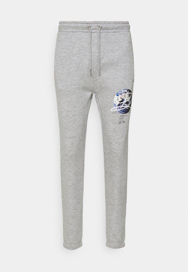 GLOBE UNISEX - Teplákové kalhoty - grey marl