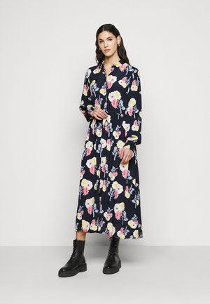 PCNADI MIDI DRESS - Blousejurk - sky captain