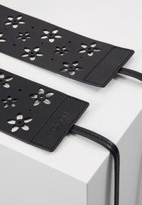 LIU JO - WAIST BELT - Waist belt - black - 2